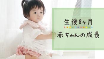 生後8ヶ月の赤ちゃんの成長