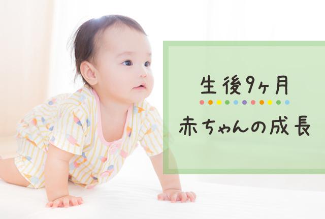 生後9ヶ月の赤ちゃんの成長