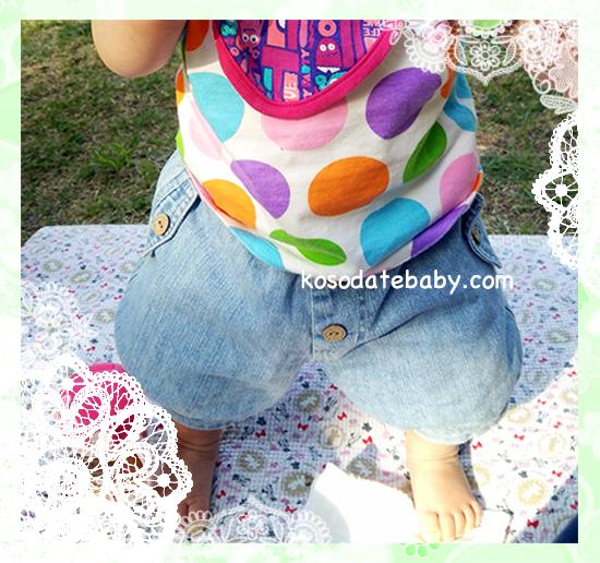 ボディスーツ+ブルマ・かぼちゃパンツ