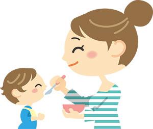 離乳食よく食べる