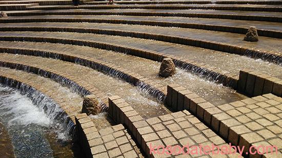 湘南海岸公園の水あそび