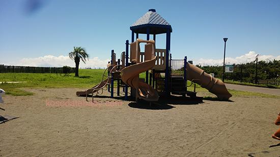 湘南海岸公園の遊具