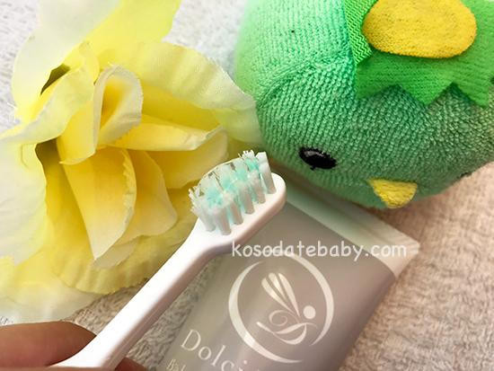 ドルチボーレベビートゥース歯磨き粉