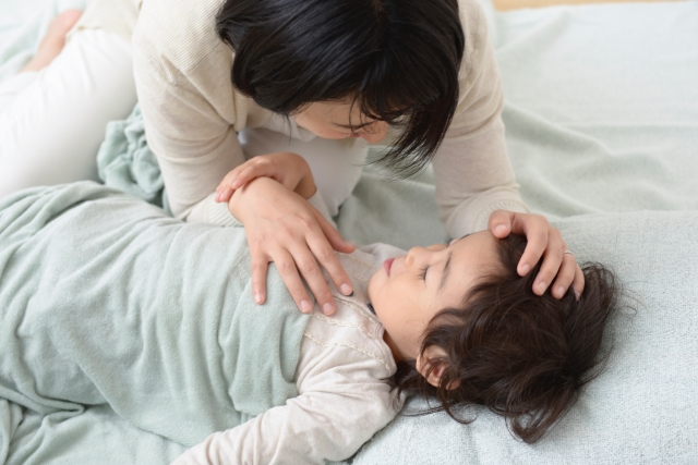 赤ちゃんとのスキンシップ
