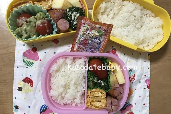 親子のお弁当