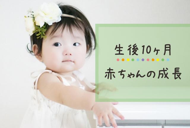 生後10ヶ月の赤ちゃんの成長